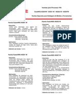Catálogo Vareta TIG Aços Ferramenta - Eutectic Castolin - 2010 - 2p