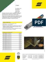 Catalogo Lápis Térmico Thermomelt - OK ESAB - 2010 - 1p