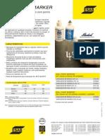Catálogos de Marcadores Industriais MarcadorBP  - OK ESAB - 2010 - 1p