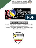 Posiciones de Las Duplas - 3ra VALIDA NACIONAL 2013