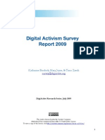 R@D 4 - Digital Activism Survey Report 2009