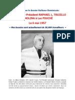 Lettre de l'ex-Président RAPHAEL L. TRUJILLO Y MOLINA à Luc FOUCHÉ
