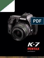 Pentax K-7 Brochure