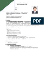Curriculum Vitae Último - Envío