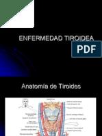 Enfermedad Tiroidea Hipofisiaria y Suprarrenal