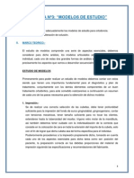 "PRACTICA Nº3 ""MODELOS DE ESTUDIO"