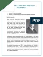 """PRACTICA Nº1 """"PRINCIPIOS BASICOS DE ORTODONCIA"""""""