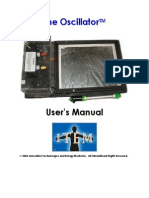 Lakhovsky Oscillator Users Manual