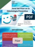Flúor criterios de aplicación