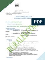 SECUENCIA DIDÁCTICA -CS NATURALES