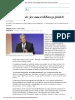 El presidente alemán pide un nuevo liderazgo global de Berlín _ Internacional _ EL PAÍS