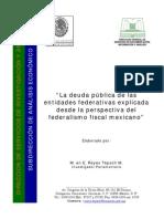 120618546 Estudio de Los Estados Mas Endeudados de Mexico