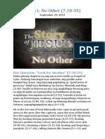 Part 11 - No Other (Luke 7:18-35)