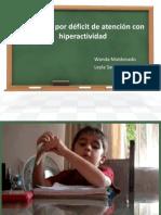 TDAH  Déficit de atención con hiperactividad