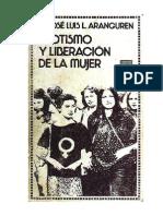 18983955 Aranguren Jose Luis Erotismo y Liberacion de La Mujer