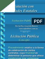 Licitacion Publica Dra Ruocco