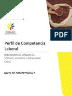 Perfil operador de máquina de molienda, tostado y refinado de cacao.pdf