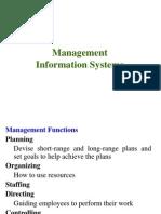 Unit III - Management Information