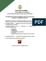Ras 2000 - Titulo a - Generalidades Agua p y Saneamiento