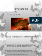 Rotura Prematura de Membranas.pptx
