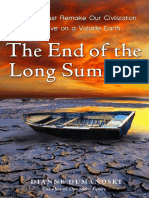 The End of the Long Summer by Dianne Dumanoski - Excerpt