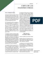 Carta de la ONU