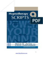 98284856 Hypnotherapy Scripts 9 Steve g Jones eBook