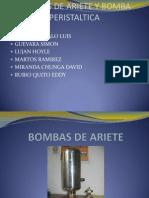 Trabajo de Bombas