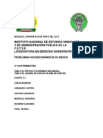 Equipo 3, Proyecto Neoliberal, CSG. 5.1 a 6.6., Mayo 26, 2013 Word.