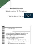 1. Tuning - Optimizacion de Consultas