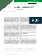 6.- Etica médica, salud y protección social