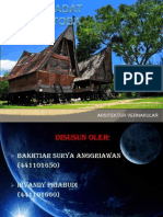 Arsitektur Vernakular_ Batak Toba