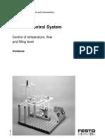 workbook control of temperature, flow & filling level