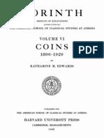 Corinth Vol 06 1933 Coins
