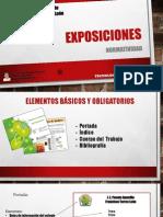 Exposiciones - Normatividad
