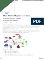 Mapa Mental- Organize suas idéias - Criatividade e Inovação