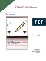 BUCKINGHAM (2005) Educación en Medios CAP-11-Alfabetizaciones-Digitales