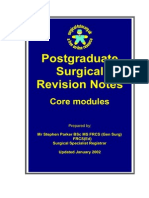 Core Revision Notes FRCS