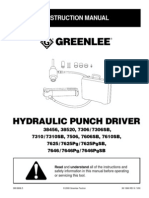 GREENLEE Hyd Punch Driver