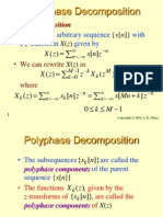 Ployphase Decomposition