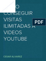 Como conseguir visitas ilimitadas a videos YouTube