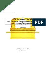 The Regulative Principle