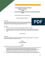 PP No 61 Tahun 2010 Tentang Pelaksanaan-UUKIP 0