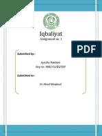 Dimensions of Iqbal1