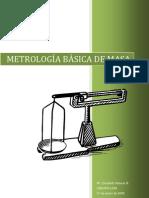 Metrología de masa básica