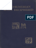 WADDELL (L.A.) - The Indo-Sumerian Seals Deciphered (1925)