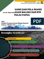 Struktur Ruang dan Pola Ruang Rencana Tata Ruang Kepulauan Maluku dan Pulau Papua