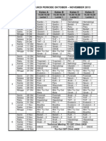 Jadwal Clinic Ukdi Periode Oktober