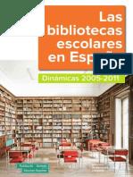 Las bibliotecas escolares en España