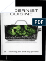 Modernist cuisine